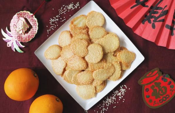 Sweet Sesame Crisps
